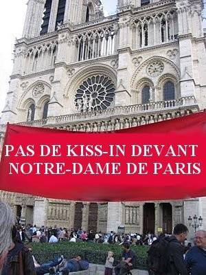 Pas de kiss-in devant Notre-Dame de Paris 14.2.2010.jpg